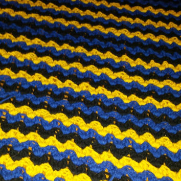 Made to order Batman inspired afghan!