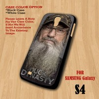 Si Robertson Duck Dynasty- For Samsung Galaxy S4 Case Cover