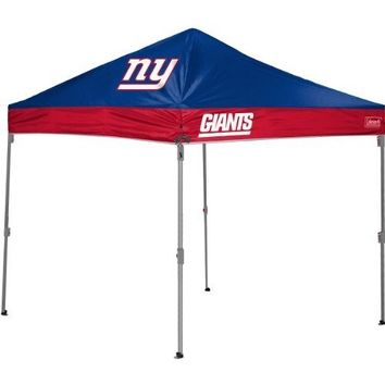 Coleman Nfl New York Giants 10x10 Straight Leg Canopy
