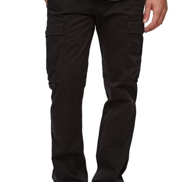 Levi's Slim Straight Cargo Pants - Mens Jeans - Black