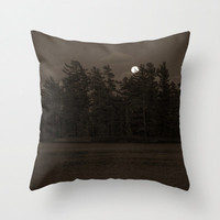 Black and White Photo Pillow Cover - Boundary Waters Photography Pillow - Photo Pillow Cover - Lake Photo Pillow Cover - Photo Home Decor