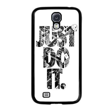 NIKE JUST DO IT TYPE Samsung Galaxy S4 Case