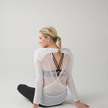 if you're lucky long sleeve tee ii | long sleeve yoga & running tops | lululemon athletica