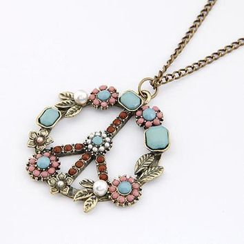 Long Chain Necklaces   Pendants for Women Men Jewelry Vintage Pe c7e494b213bb