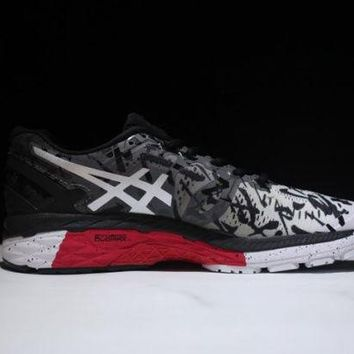 VONE8H5 ASICS GT 2000 LITE SHOW 4. Black & Red, Men's Running Shoes Sneakers