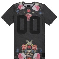 On The Byas Roy Sublimated Crew T-Shirt - Mens Tee - Black -
