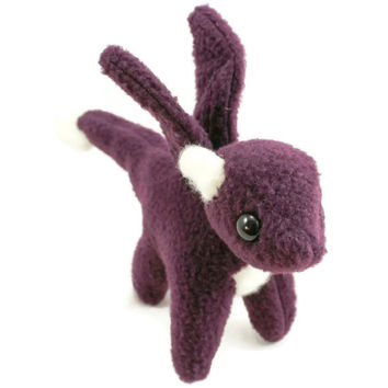 Purple Dragon Stuffed Animal Plush Toy Plushie