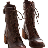 ModCloth Steampunk Wildlife Biologist Boot