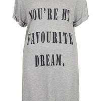 'Favourite Dream' Nightshirt - Sleepwear - Lingerie & Sleepwear  - Clothing