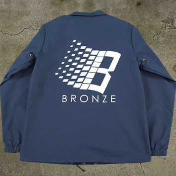 Bronze 56k B Logo Coaches Jacket
