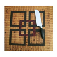 "Cutting Board Large End Grain - 18"" x 22"" x 1.25"" Hardwood"