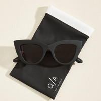 Kitti Sunglasses in Noir
