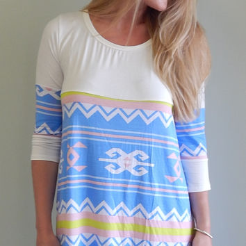 Pretty in Pastels Shift Dress
