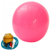 65cm Explosion-proof Exercise Fitness Yoga Ball Pink - Default