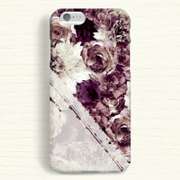 iPhone 6 Case, iPhone 6 Plus Case, iPhone 5S Case, iPhone 5 Case, iPhone 5C Case, iPhone 4S Case, iPhone 4 Case - Fade Vintage Flowers