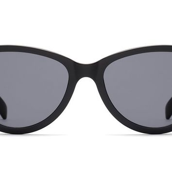 Quay - Rizzo Black Sunglasses / Smoke Lenses