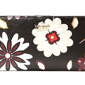 ONETOW Kate Spade Cameron Street Stacy Leather Wallet, Multi