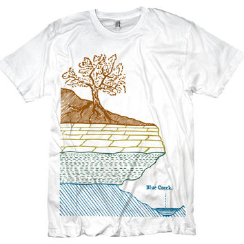 Geology Tshirt Earth's Layers Retro Graphic Tee