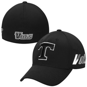 Tennessee Volunteers Top of the World Mens Ultrasonic Memory Fit Flex Hat – Black