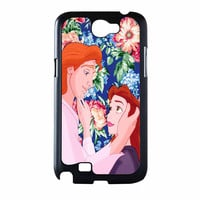 Beauty And The Beast Floral Samsung Galaxy Note 2 Case