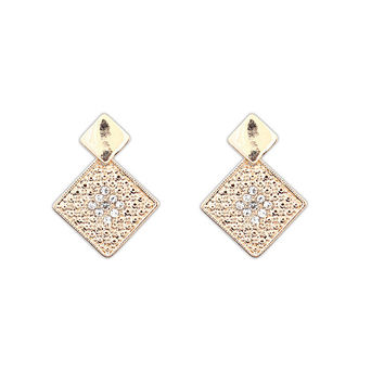 Stylish Elegant Earrings Sponge [4919089476]
