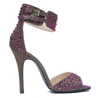 CHINESE LAUNDRY JOVIAL JEWELED SANDAL - PINK MULTI