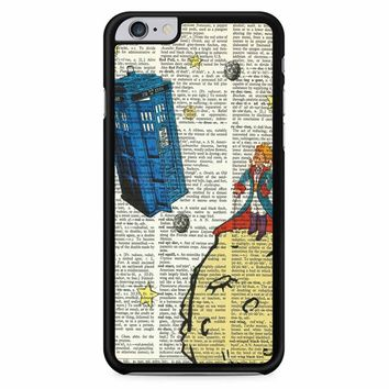 The Little Prince With Tardis iPhone 6 Plus / 6S Plus Case