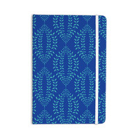 "Anneline Sophia ""Laurel Leaf Blue"" Navy Floral Everything Notebook"