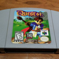 Quest 64 Nintendo 64 console video game system RPG