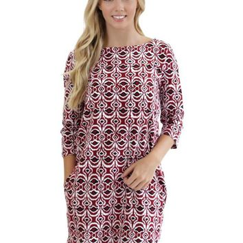 Ashley Boatneck Dress