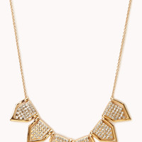 Touch Of Glam Geo Necklace