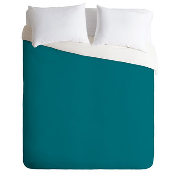 DENY Designs Blue Green 322c Duvet Cover