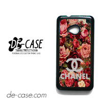 Floral Chanel 2 For HTC One M7 Case Phone Case Gift Present YO