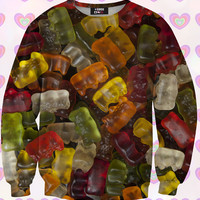 Gummy Bears Sweatshirt For Kids