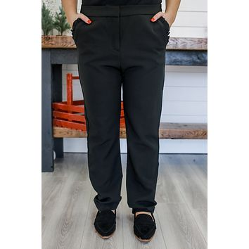 Updated Status Pants - Black