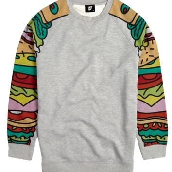Lazy Oaf | Sandwich Arm Sweatshirt