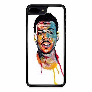 Acrylic Painting Of Chance The Rapper iPhone 8 Plus Case