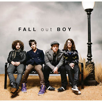 Fall Out Boy Band Portrait Poster 11x17
