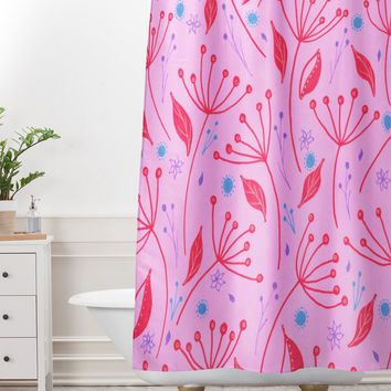 Viviana Gonzalez Vintage Floral III Shower Curtain And Mat | DENY Designs Home Accessories