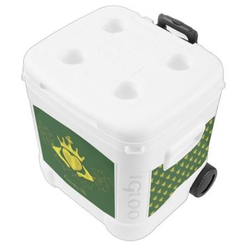 The Claddagh (Gold) Rolling Cooler