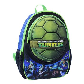 Teenage Mutant Ninja Turtles Turtle Shell Backpack - Kids (Blue/Green)