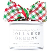 Holiday Quad Bow in Red/Green by Collared Greens