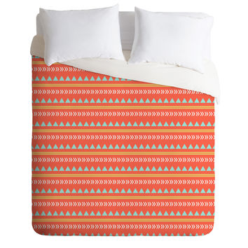 Allyson Johnson Native Aztec Duvet Cover