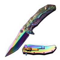 Samurai Rainbow Knife
