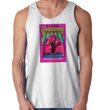 Goosebumps For Mens Tank Top Fast Shipping For USA special christmas ***