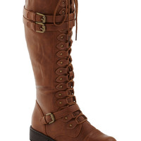 Cocoa Channel Boot in Light | Mod Retro Vintage Boots | ModCloth.com