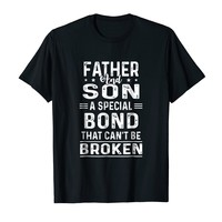 Father And Son A Special Bond That Can't Be Broken Shirt