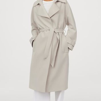 Trenchcoat - Light purple - Ladies | H&M US