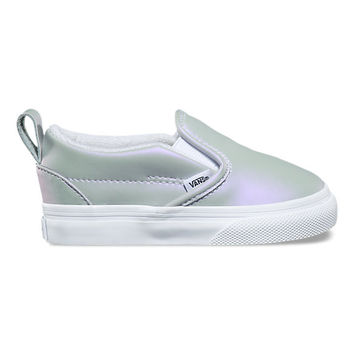 Toddler Muted Metallic Slip-On V | Shop At Vans