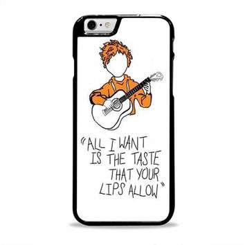 Ed Sheeran lyrics pter actress Iphone 6 plus Cases
